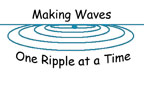 Logo: &quot;Making Waves One Ripple at a Time&quot;